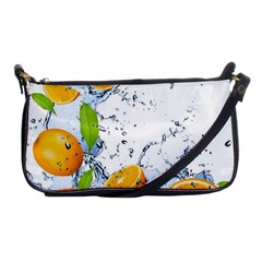 Fruits Water Vegetables Food Shoulder Clutch Bags by BangZart