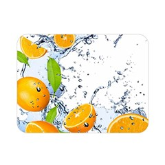 Fruits Water Vegetables Food Double Sided Flano Blanket (mini)  by BangZart