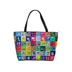Exquisite Icons Collection Vector Shoulder Handbags by BangZart