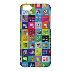 Exquisite Icons Collection Vector Apple Iphone 5c Hardshell Case by BangZart
