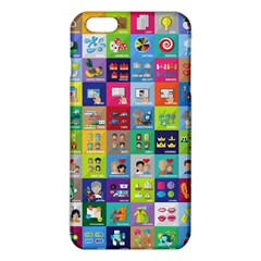 Exquisite Icons Collection Vector Iphone 6 Plus/6s Plus Tpu Case by BangZart