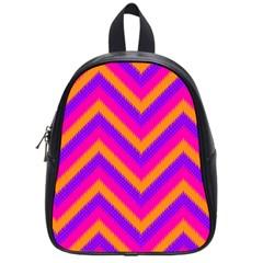 Chevron School Bags (small)  by BangZart