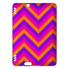 Chevron Kindle Fire Hdx Hardshell Case by BangZart