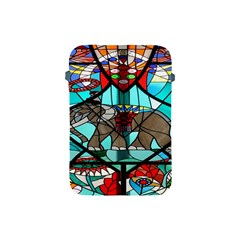 Elephant Stained Glass Apple Ipad Mini Protective Soft Cases by BangZart