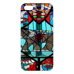 Elephant Stained Glass Iphone 5s/ Se Premium Hardshell Case by BangZart