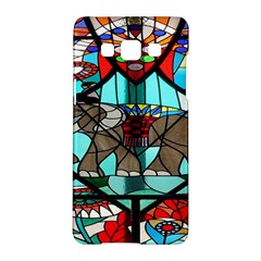 Elephant Stained Glass Samsung Galaxy A5 Hardshell Case  by BangZart