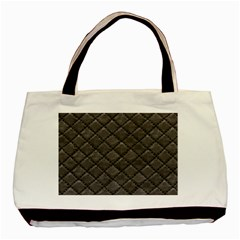 Seamless Leather Texture Pattern Basic Tote Bag by BangZart