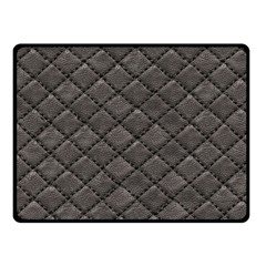 Seamless Leather Texture Pattern Double Sided Fleece Blanket (small)  by BangZart