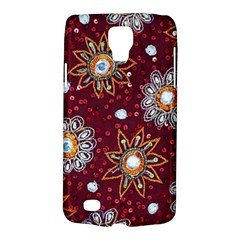 India Traditional Fabric Galaxy S4 Active by BangZart