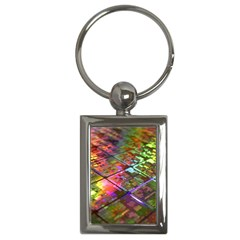 Technology Circuit Computer Key Chains (rectangle)  by BangZart