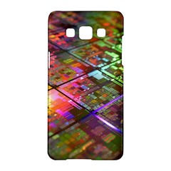 Technology Circuit Computer Samsung Galaxy A5 Hardshell Case  by BangZart
