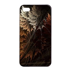 Fractalius Abstract Forests Fractal Fractals Apple Iphone 4/4s Seamless Case (black) by BangZart