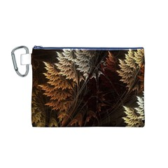 Fractalius Abstract Forests Fractal Fractals Canvas Cosmetic Bag (m) by BangZart