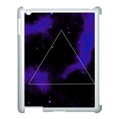 Space Apple Ipad 3/4 Case (white) by Valentinaart
