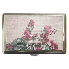 Shabby Chic Style Floral Photo Cigarette Money Cases by dflcprints