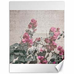 Shabby Chic Style Floral Photo Canvas 18  X 24   by dflcprints