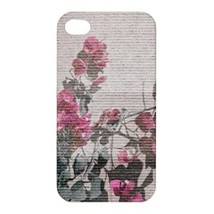 Shabby Chic Style Floral Photo Apple Iphone 4/4s Hardshell Case by dflcprints