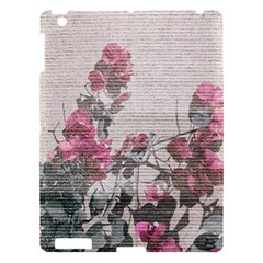 Shabby Chic Style Floral Photo Apple Ipad 3/4 Hardshell Case by dflcprints
