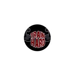 Train Hard 1  Mini Buttons by Valentinaart