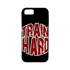 Train Hard Apple Iphone 5 Classic Hardshell Case (pc+silicone) by Valentinaart