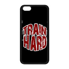 Train Hard Apple Iphone 5c Seamless Case (black) by Valentinaart