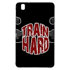 Train Hard Samsung Galaxy Tab Pro 8 4 Hardshell Case by Valentinaart