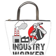 Industry Worker  Bucket Bags by Valentinaart