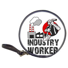Industry Worker  Classic 20 Cd Wallets by Valentinaart