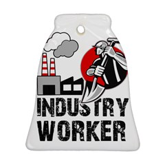 Industry Worker  Ornament (bell) by Valentinaart