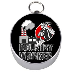 Industry Worker  Silver Compasses by Valentinaart