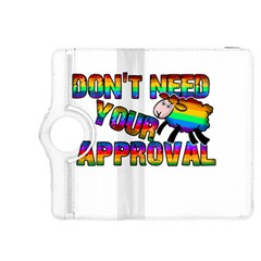 Dont Need Your Approval Kindle Fire Hdx 8 9  Flip 360 Case by Valentinaart