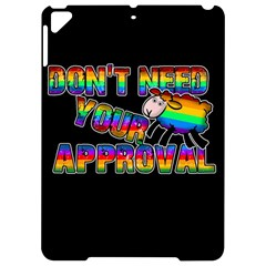 Dont Need Your Approval Apple Ipad Pro 9 7   Hardshell Case by Valentinaart