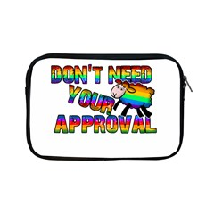 Dont Need Your Approval Apple Ipad Mini Zipper Cases by Valentinaart