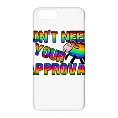 Dont Need Your Approval Apple Iphone 7 Plus Hardshell Case by Valentinaart