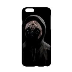Gangsta Pug Apple Iphone 6/6s Hardshell Case by Valentinaart