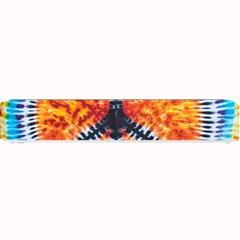 Tie Dye Peace Sign Small Bar Mats by BangZart