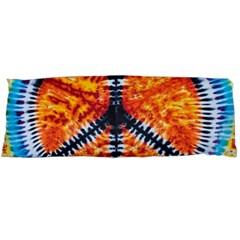 Tie Dye Peace Sign Body Pillow Case Dakimakura (two Sides) by BangZart
