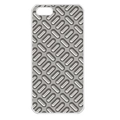 Grey Diamond Metal Texture Apple Iphone 5 Seamless Case (white) by BangZart