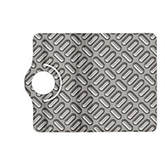 Grey Diamond Metal Texture Kindle Fire Hd (2013) Flip 360 Case by BangZart