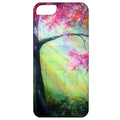 Forests Stunning Glimmer Paintings Sunlight Blooms Plants Love Seasons Traditional Art Flowers Sunsh Apple Iphone 5 Classic Hardshell Case by BangZart