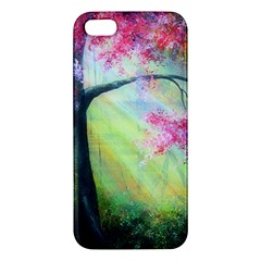 Forests Stunning Glimmer Paintings Sunlight Blooms Plants Love Seasons Traditional Art Flowers Sunsh Iphone 5s/ Se Premium Hardshell Case by BangZart