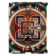 Colorful Mandala Apple Ipad 3/4 Hardshell Case (compatible With Smart Cover) by BangZart