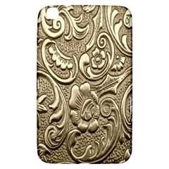 Golden European Pattern Samsung Galaxy Tab 3 (8 ) T3100 Hardshell Case  by BangZart