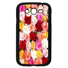 Rose Color Beautiful Flowers Samsung Galaxy Grand Duos I9082 Case (black) by BangZart