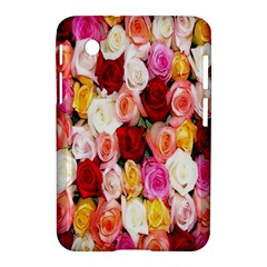 Rose Color Beautiful Flowers Samsung Galaxy Tab 2 (7 ) P3100 Hardshell Case  by BangZart