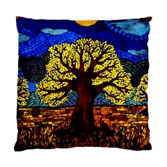 Tree Of Life Standard Cushion Case (one Side) by BangZart