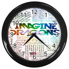 Imagine Dragons Quotes Wall Clocks (black) by BangZart