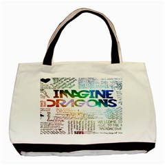Imagine Dragons Quotes Basic Tote Bag (two Sides) by BangZart