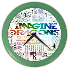 Imagine Dragons Quotes Color Wall Clocks by BangZart