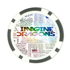 Imagine Dragons Quotes Poker Chip Card Guard by BangZart